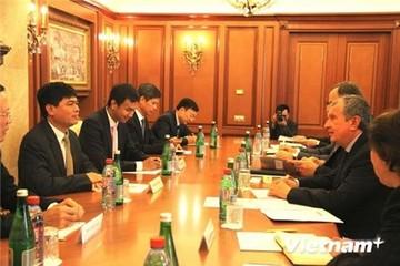 Việt Nam - Nga thúc đẩy hợp tác dầu khí thông qua các liên doanh