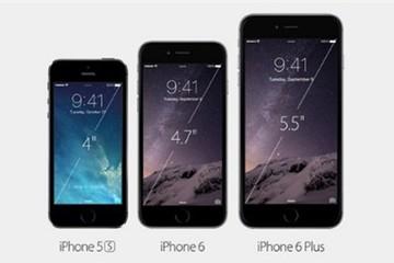 iPhone 6 'bằng xương bằng thịt' chính thức ra mắt với màn hình lớn 4,7 và 5,5 inch