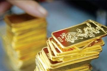 Giá vàng trong nước cao hơn thế giới 4,4 triệu đồng/lượng