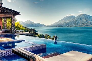 Khu nghỉ dưỡng nhìn ra núi lửa tuyệt đẹp ở Guatemala