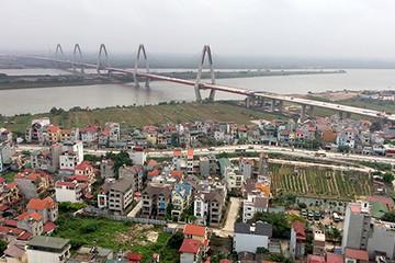 Xây cầu vượt ở nút giao Phú Thượng đầu cầu Nhật Tân
