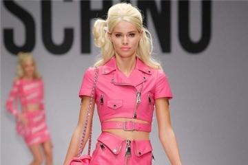 Cô nàng Barbie ngọt ngào trong BST Moschino Xuân 2015