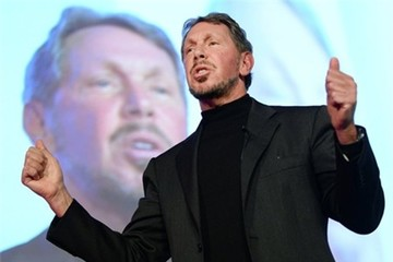 Larry Ellison từ chức CEO Oracle