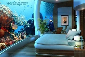 Thiết kế biệt thự xa xỉ ở dưới nước