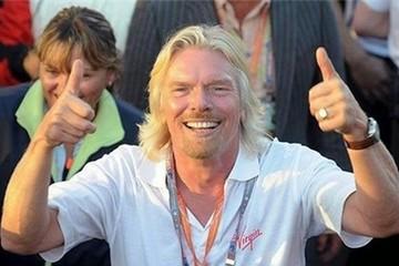 Tỷ phú Richard Branson: 'Người chăm chỉ sẽ gặp may'
