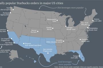 Cách mọi người uống cà phê tại Mỹ
