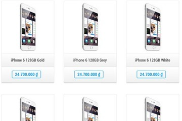 Giá iPhone 6 đã giảm còn 20 triệu đồng