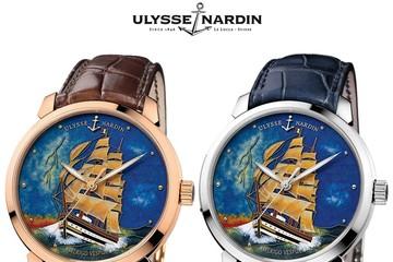Tinh tế với đồng hồ Amerigo Vespucci của Ulysse Nardin