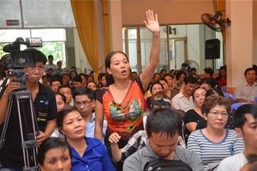 Tiểu thương phản đối dự án chợ Tân Bình mới