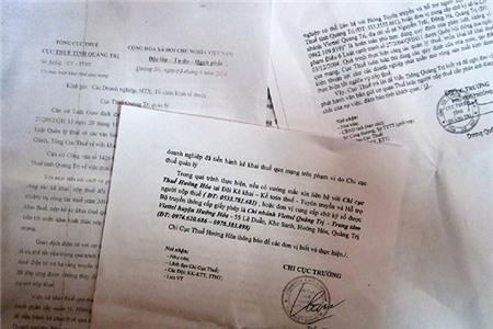 """Quảng Trị: Cục Thuế bị tố """"bắt tay"""" với Viettel tạo độc quyền"""