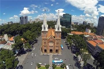 Những địa danh nổi tiếng Sài Gòn nhìn từ trên cao