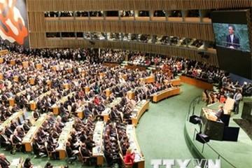 Đại hội đồng Liên hợp quốc thảo luận về nhiều điểm nóng trên thế giới