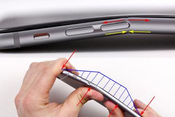 'Điểm chết' khiến iPhone 6 Plus bị bẻ cong dễ dàng