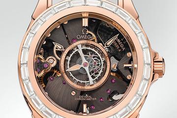 """""""Đẳng cấp"""" với đồng hồ nạm kim cương của Omega"""