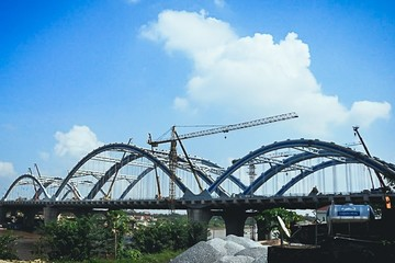 Cầu Đông Trù sẽ được thông xe vào ngày Giải phóng Thủ đô