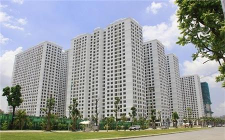 Nghịch cảnh thanh khoản trên thị trường chung cư Hà Nội