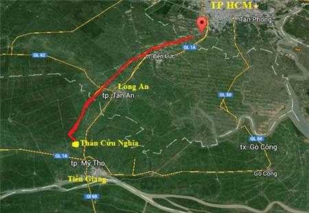 Đầu tư 24.500 tỷ đồng làm đường cao tốc Trung Lương-Cần Thơ