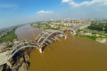 Hà Nội: Ngày 9/10, thông xe cầu mái vòm đầu tiên