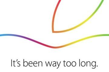 Apple gửi thư mời sự kiện đặc biệt ngày 16/10, ra mắt iPad Air 2?