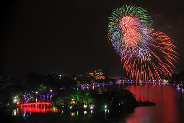 Ngày mai, Hà Nội bắn pháo hoa ở đâu?