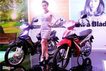 Ảnh thực tế xe số giá rẻ Honda Blade 110 ở Việt Nam