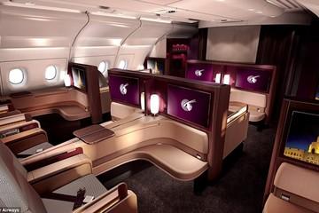 Khám phá nội thất siêu sang của khoang hạng nhất máy bay Airbus A380