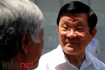 Chủ tịch nước: Chưa thể trả lời khi nào đạt yêu cầu chống tham nhũng