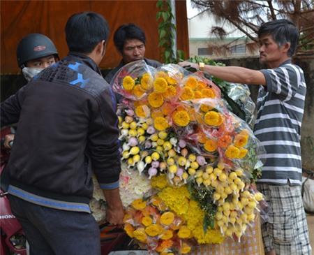 Hoa tươi Đà Lạt tăng giá đột biến