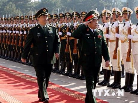 [Photo] Bộ trưởng Quốc phòng Phùng Quang Thanh thăm Trung Quốc