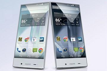 Sành điệu với smartphone pha lê Aquous Crystal mới của Sharp