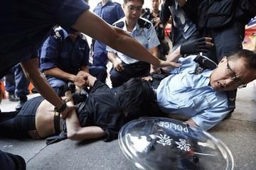 Hồng Kông: 9.000 người biểu tình tái chiếm quận Mong Kok