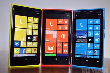 Điện thoại Nokia được đổi tên thành Microsoft Lumia