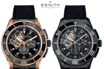 Zenith ra mắt đồng hồ siêu bền El Primero Stratos Spindrift Racing