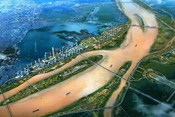 Lấy ý kiến về vị trí cầu đường sắt vượt sông Hồng