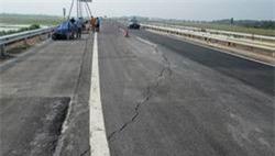 Công khai nguyên nhân nứt mặt đường cao tốc Nội Bài – Lào Cai