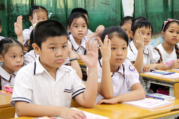 Không được tổ chức thi học sinh giỏi đối với học sinh tiểu học
