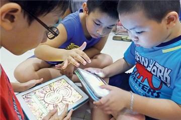 78% trẻ đô thị dưới 6 tuổi sử dụng thiết bị số