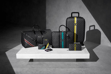 Nam tính với bộ sưu tập túi Mon Damier Graphite Service của Louis Vuitton