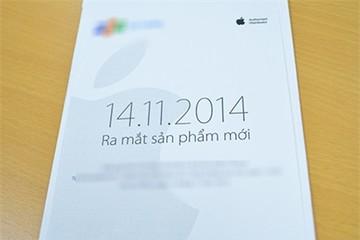 Apple chuyển thư mời ra mắt iPhone 6 tại Việt Nam ngày 14/11