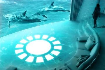 Phòng chiếu phim thông minh trên siêu du thuyền