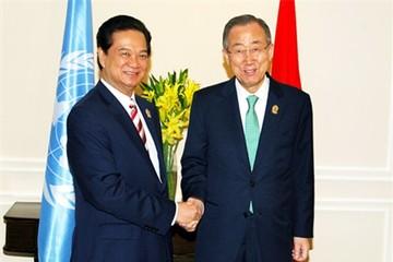 Tổng thư ký LHQ: Sẵn sàng hỗ trợ Việt Nam giải quyết tranh chấp trên Biển Đông