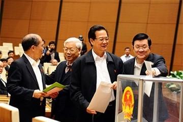 Quốc hội hoàn thành việc lấy phiếu tín nhiệm 50 chức danh