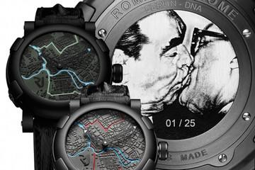 Romain Jerome ra mắt bộ sưu tập đồng hồ giới hạn Berlin DNA