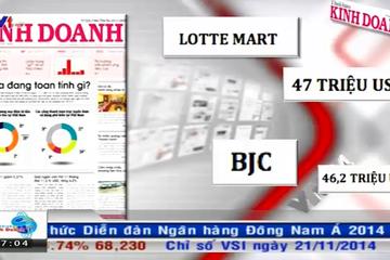 Bản tin tài chính VTV1 sáng 25/11/2014
