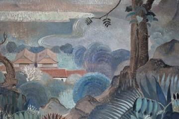 Tranh họa sĩ Lê Phổ được bán đấu giá với 840.000 USD
