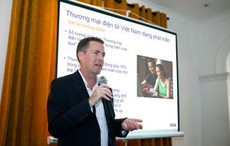 Visa ghi nhận giao dịch trực tuyến tại Việt Nam tăng 52% so với 2013