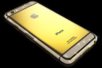 Sành điệu với iPhone 6 Swarovski Brilliance Elite phiên bản vàng sành điệu