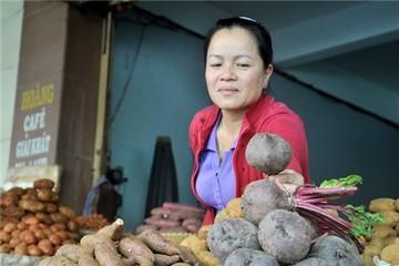 Nông sản Đà Lạt tăng giá