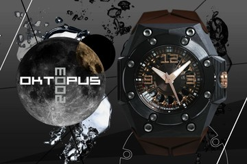 Ấn tượng với đồng hồ Oktopus Moon Carbon giá hơn 400 triệu đồng
