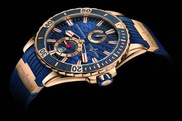 Nam tính với đồng hồ Gold Marine Diver của Ulysse Nardin